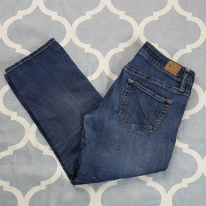 American Eagle Boy Fit Capri jeans Sz 4R
